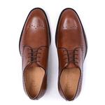 Sapato Social Derby Brogue - Irlan Conhaque