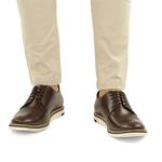 Sapato Masculino Derby - Hugh Damasco (castanho)