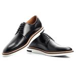 Sapato Masculino Derby - Hugh preto