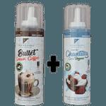 Bullet Cream Coffee Spray 240ml + Chantilly De Coco Vegano Spray 240ml - Klein Foods