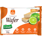 Wafer Belfar Limão Sem Glúten 50g