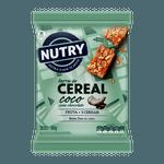 Barra De Cereais Nutry Coco com Chocolate 3x22g