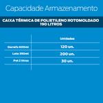 Locação - Caixa Térmica 190l