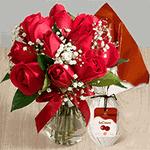 Surpresa de Páscoa para Namorada - Rosas Vermelhas