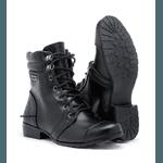 Bota Coturno Militar Feminina Preta
