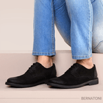Sapato Bernatoni Boston Preto