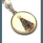 Chaveiro Dezena Nossa Senhora Aparecida Dourado