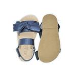 Sandália Infantil Feminino Ayla - Metalizado Azul