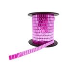 Corrente Flat Metal 10x4mm - Banho Rosa Light