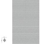 Tira De Strass Níquel e Pedra Cristal - 45x10cm