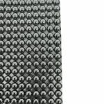 Manta De Strass Pop Metal 40x23cm - Onix