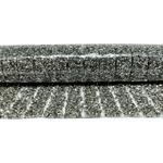 Manta De Strass Rivoli Espaçada 23x40cm - Black Diamond