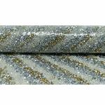 Manta De Strass Rivoli Line 24x40cm - Dourada