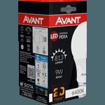 Lâmpada Bulbo LED 9W Branca 6.500K Bivolt