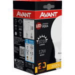 Lâmpada Bulbo LED 12W Amarela 3.000K Bivolt