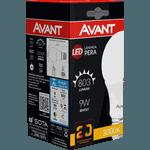 Lâmpada Bulbo LED 9W Amarela 3.000K Bivolt