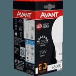 Lâmpada Bulbo LED 15W Branca 6.500K Bivolt