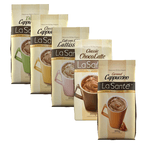 Combo com 5 Cappuccinos Classic LaSanté 200g