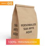 SACO S.O.S PARA DELIVERY PERSONALIZADO - TAMANHO GG 30X19X31 CM