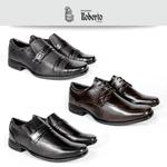 Kit 3 Sapatos Sociais
