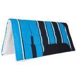 Manta Mustang Azul estampa Navajo c/ Pelúcia