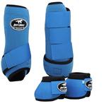Conjunto Caneleira e Cloche Azul Turquesa - Boots Horse