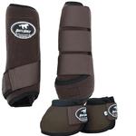 Conjunto Caneleira e Cloche Marrom - Boots Horse