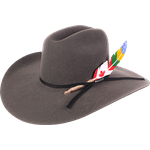 Chapéu Pralana Journey Felt III Cinza Escuro