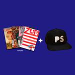 Kit 4 Revistas Zupi + Boné PS Black