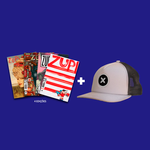 Kit 4 Revistas Zupi + Boné Pixel Show X