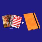 Kit 4 Revistas Zupi + Sketch Book PS
