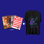 Kit 4 Revistas Zupi + Camiseta PS 20