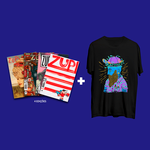 Kit 4 Revistas Zupi + Camiseta PS Barba
