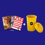 Kit 4 Revistas Zupi + Copo PS Bambu