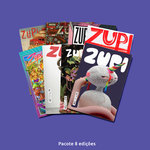 Pacote 8 Edições Revista Zupi