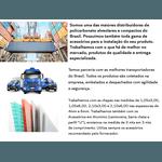 Kit 2 Chapas De Policarbonato Alveolar 2,10x6,00 4 Milímetros e Acessórios Para Instalação