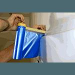 Manta Protetora Salva Pintura 20m X 0,90m - Construtintas
