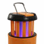 Lâmpada Impermeável Anti-mosquito Camping Recarregável USB - Laranja