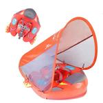 Colete Flutuador de Torax Infantil com Cobertura - 3 à 24 meses Laranja