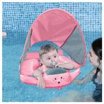 Colete Flutuador de Torax Infantil com Cobertura - 3 à 24 meses Rosa