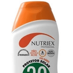 Protetor Solar FPS 30 120ml 1/3 UVA com Repelente Nutriex
