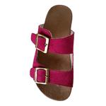Birken em Couro / Camurça Pink