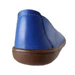 Sapatilha em Couro Azul