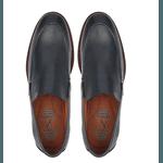 Sapato Casual Masculino Sport NV Couro Marinho