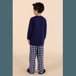 Pijama Menino Pets Xadrez