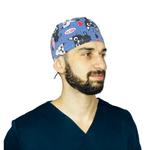 Bandana Cirúrgica Unissex - Gatos 2