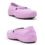 Sapatilha Rosa Soft Works BB51 Sapato de Segurança EPI Antiderrapante