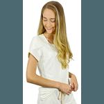 Pijama Cirúrgico Comfy - Tulipa Branca