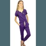 Pijama Cirúrgico - Tulipa Violeta