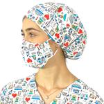 Touca Cirúrgica e Máscara Medical Nursing 3